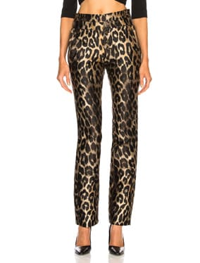 Leopard Charlotte Pants