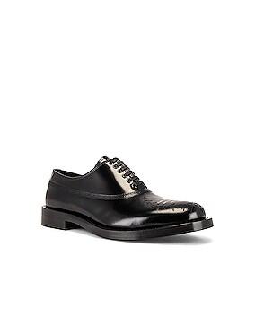 Lace Up Buck Shoe