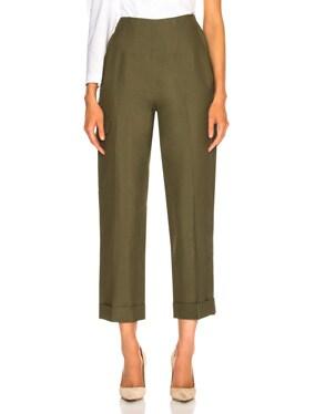 Cotton Canvas Safari Trousers