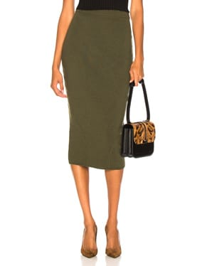Signature Fitted Skirt