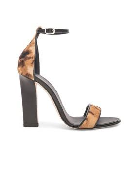 Ponyhair Anna Ankle Strap Sandals