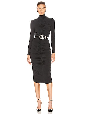 Elm Turtleneck Midi Dress