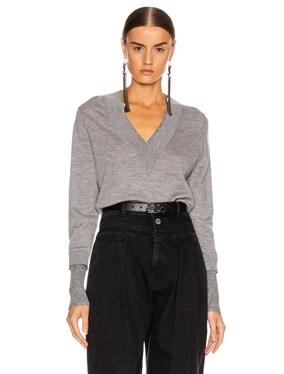Tatiana V-Neck Pullover Sweater