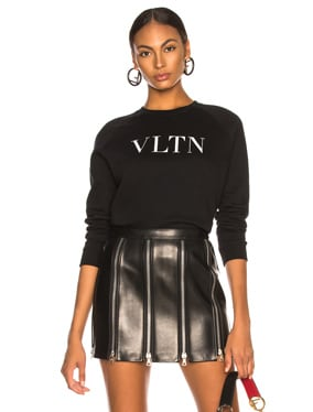 VLTN Faded Cotton Sweatshirt