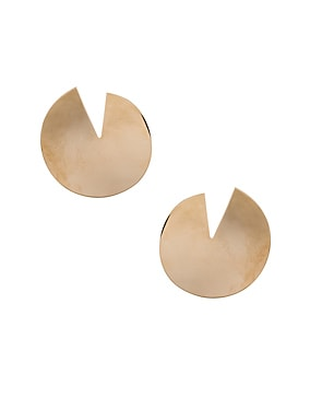 Logo Circle Earrings
