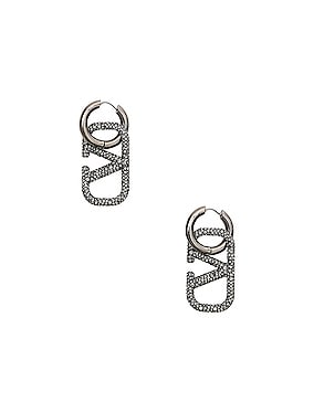 Go Logo Earrings