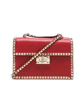 Small Rockstud No Limit Crossbody Bag
