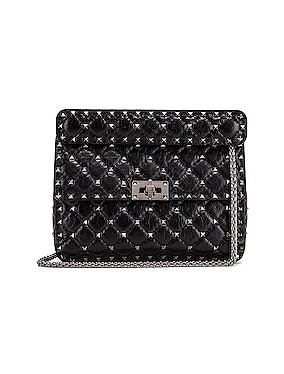 Rockstud Spike Medium Shoulder Bag