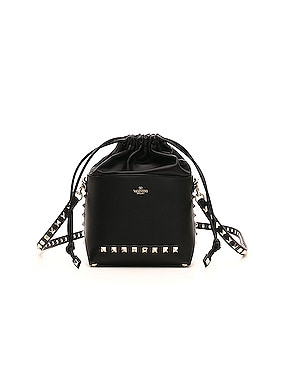Mini Rockstud Bucket Bag