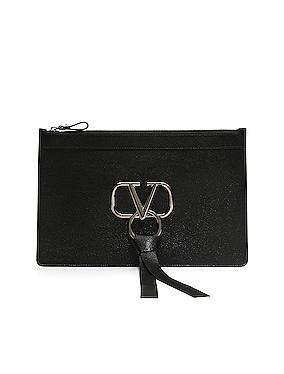 Large VRing Flat Pouch