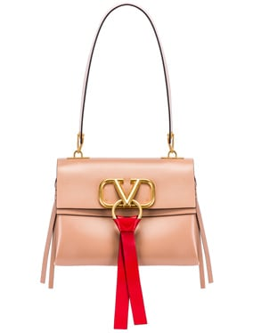 VLogo Ribbon Shoulder Bag