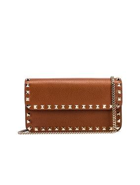 Rockstud Flap Crossbody Bag