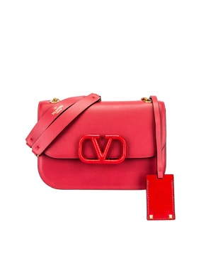 Small VSling Chain Shoulder Bag