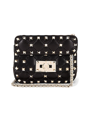 Micro Rockstud Spike Shoulder Bag