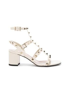 Patent Leather Rockstud Sandals