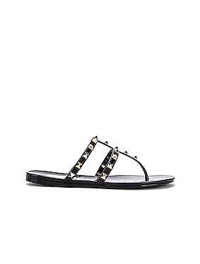 Rockstud Summer Thong Sandals