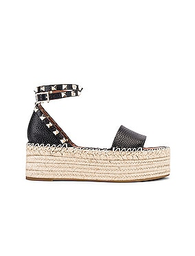 Rockstud Double Platform Wedges