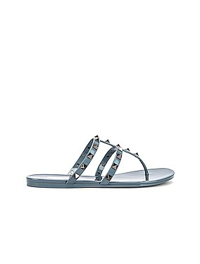 Rockstud Summer Thong Sandals
