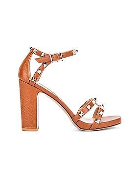 Rockstud Ankle Strap Sandals
