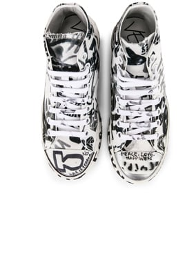 Graffiti High Top Sneakers