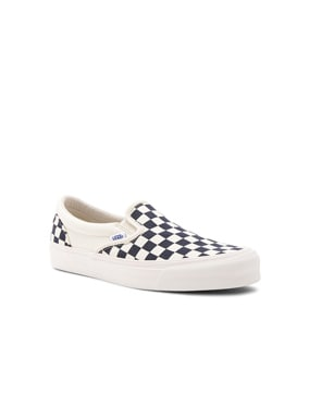OG Classic Canvas Checkerboard Slip On LX