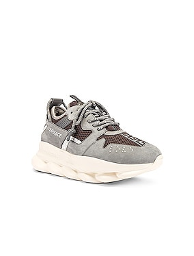 Chain Reaction Sneaker in Grey