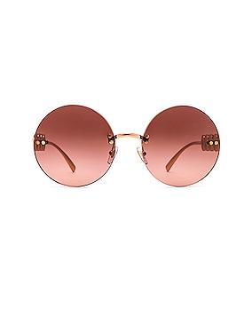 Medusa Round Sunglasses