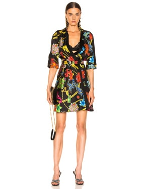 Catene Print Dress