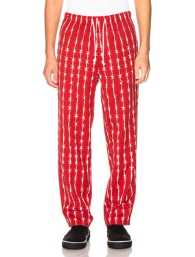 Barbed Wire Pinstripe Gabardine Pajama Trouser