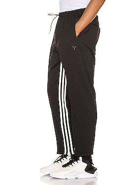 3 Striped Cropped Track Pant