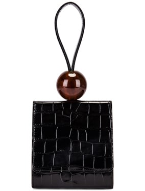 Ball Croco Embossed Bag