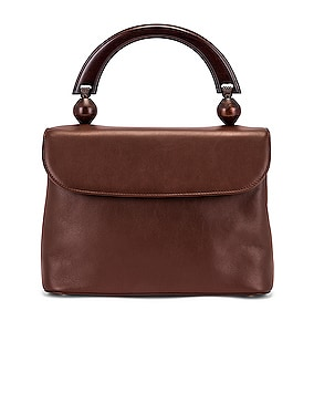 Fiona Leather Top Handle Bag