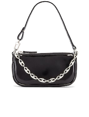 Mini Rachel Semi Patent Leather Bag