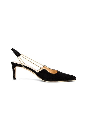 Gabriella Suede Leather Pump