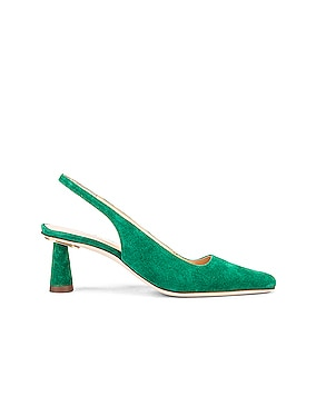 Diana Suede Leather Pump