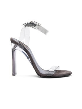 Season 6 PVC Sandals with Ankle Strap