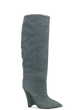Season 8 Wedge Knee High Boot