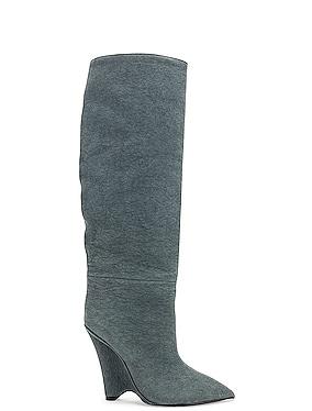 Season 8 Wedge Knee High Boot