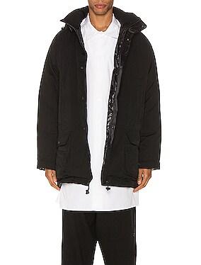 Gabardine Down Jacket