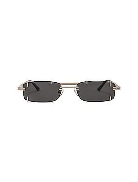 Pronged Rectangular Sunglasses