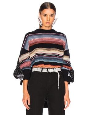 Norwegian Paneled Sweater