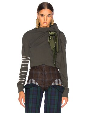 Scarf Sweatshirt