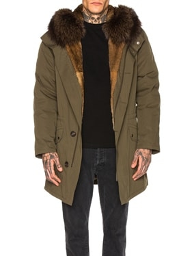 Parka with Rabbit and Fox Fur