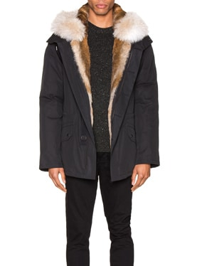 Parka with Rabbit and Coyote Fur