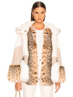 Multi Fur Jacket