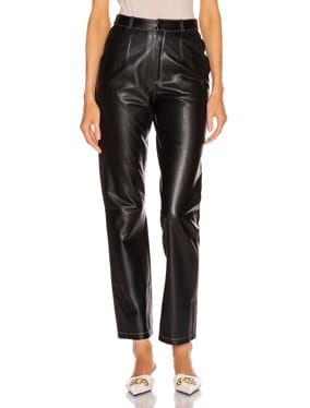 Leather Cigarette Pant