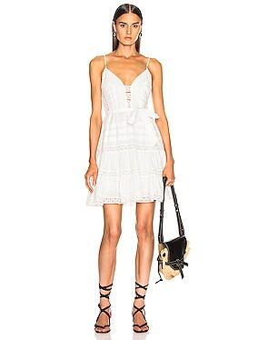 Honour Scallop Short Dress