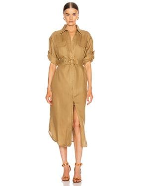 Super Eight Safari Midi Dress