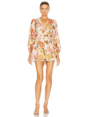 Bonita Button Through Playsuit