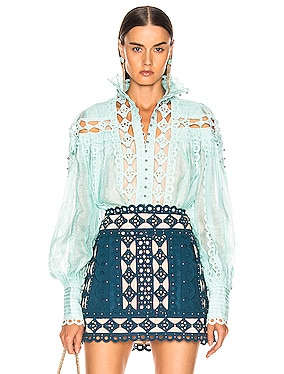 Moncur Studded Blouse